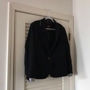 Merona size 18 black lined blazer.